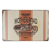 Motherroad Motorcycle Repair muurplaat