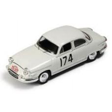 Panhard PL17 #174 winner rally Monte Carlo 1961