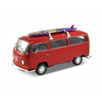 VW T2 bus met Surfplank